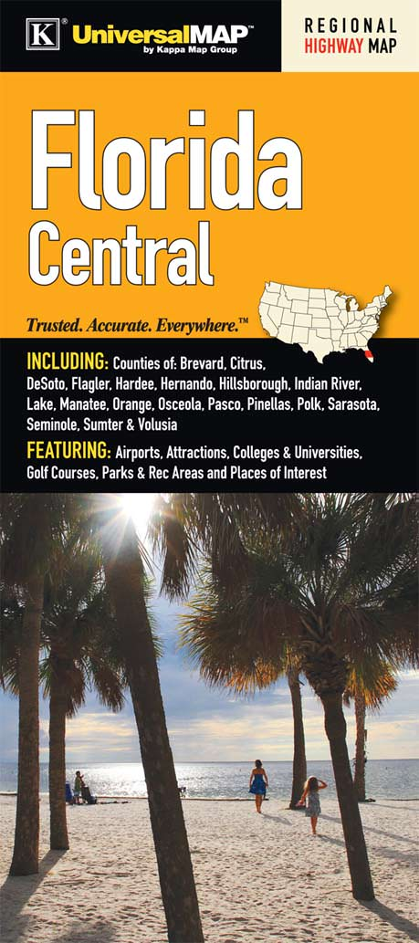 Florida State Central Regional Fold Map – KAPPA MAP GROUP