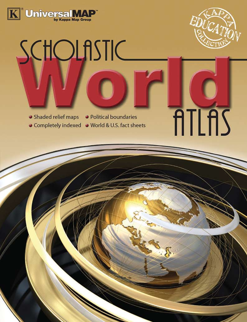 World scholastic atlas kappa map group world scholastic atlas gumiabroncs Choice Image