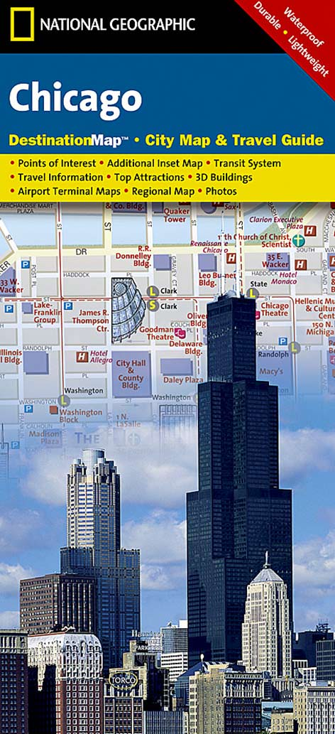 Chicago Destination City Map – KAPPA MAP GROUP on