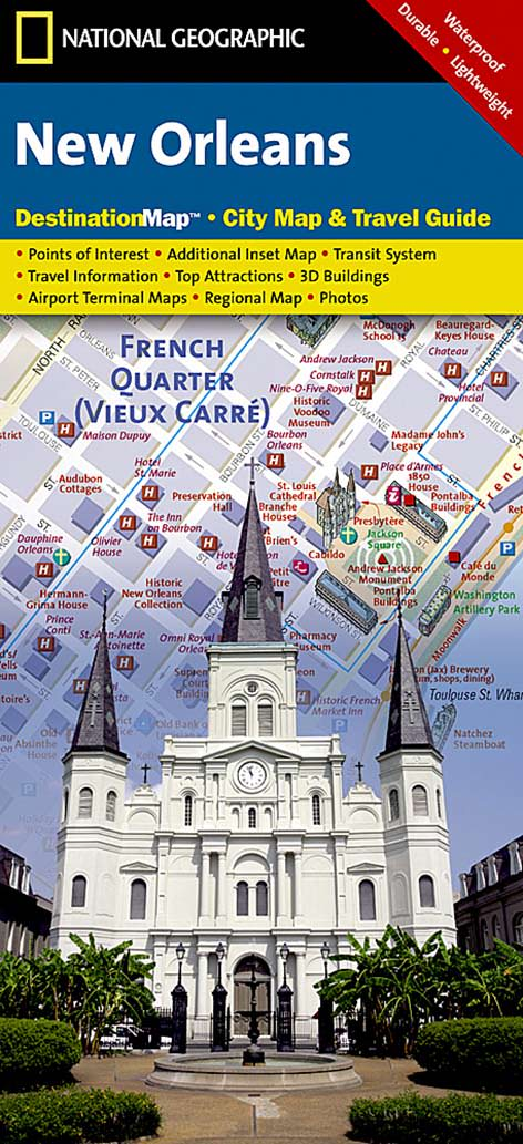 New Orleans Destination City Map – KAPPA MAP GROUP on