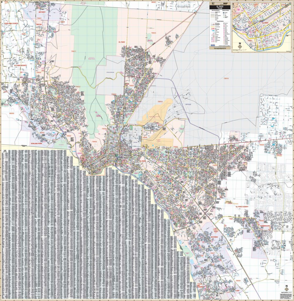 El Paso, TX Wall Map – KAPPA MAP GROUP on map of cedar hill tx, map of cleburne tx, map of tyler tx, map of san elizario tx, map of bandera tx, map of el paso county tx, map of commerce tx, map of center tx, map of bend tx, map of canton tx, map of bowie tx, map of broaddus tx, map of crane tx, map of belton tx, map of anthony tx, map of eden tx, map of fort hancock tx, map of clarendon tx, map of bastrop tx, map of claude tx,