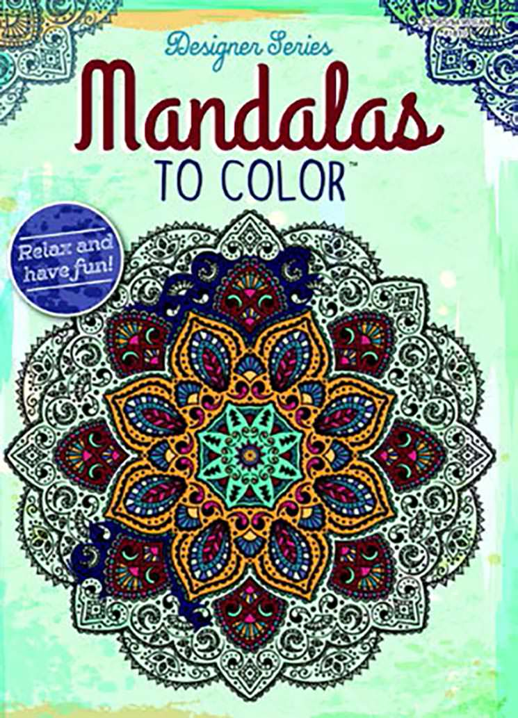 Adult Coloring Book Mandalas To Color Kappa Map Group