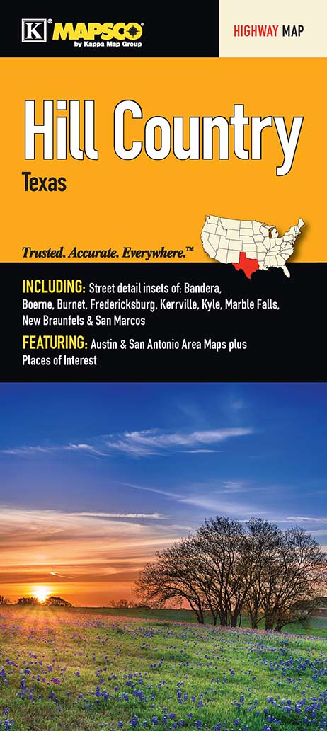 Hill Country, TX Fold Map on map of moody tx, map of horseshoe bay tx, map of george west tx, map of pipe creek tx, map of meadowlakes tx, map of wimberley tx, map of bee cave tx, map of romayor tx, map of rocksprings tx, map of calallen tx, map of garden ridge tx, map of lindale tx, map of granite shoals tx, map of hamilton pool tx, map of wallisville tx, map of tiki island tx, map of austin tx, map of hollywood park tx, map of tx cities texas, map of n richland hills tx,
