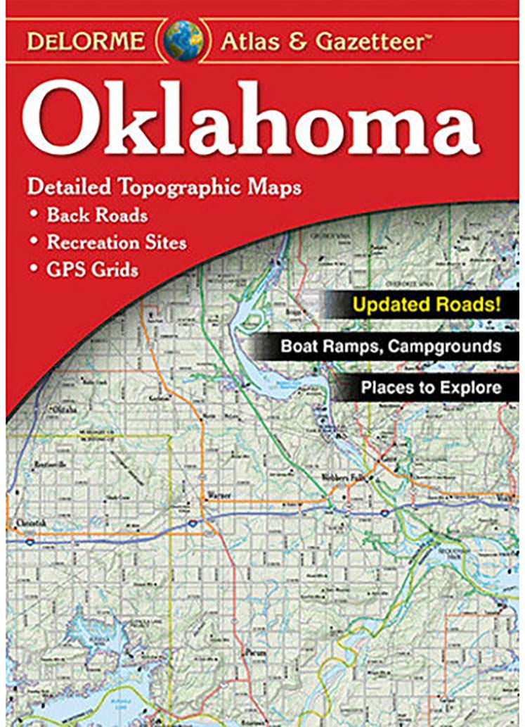 Oklahoma Atlas & Gazetteer – KAPPA MAP GROUP