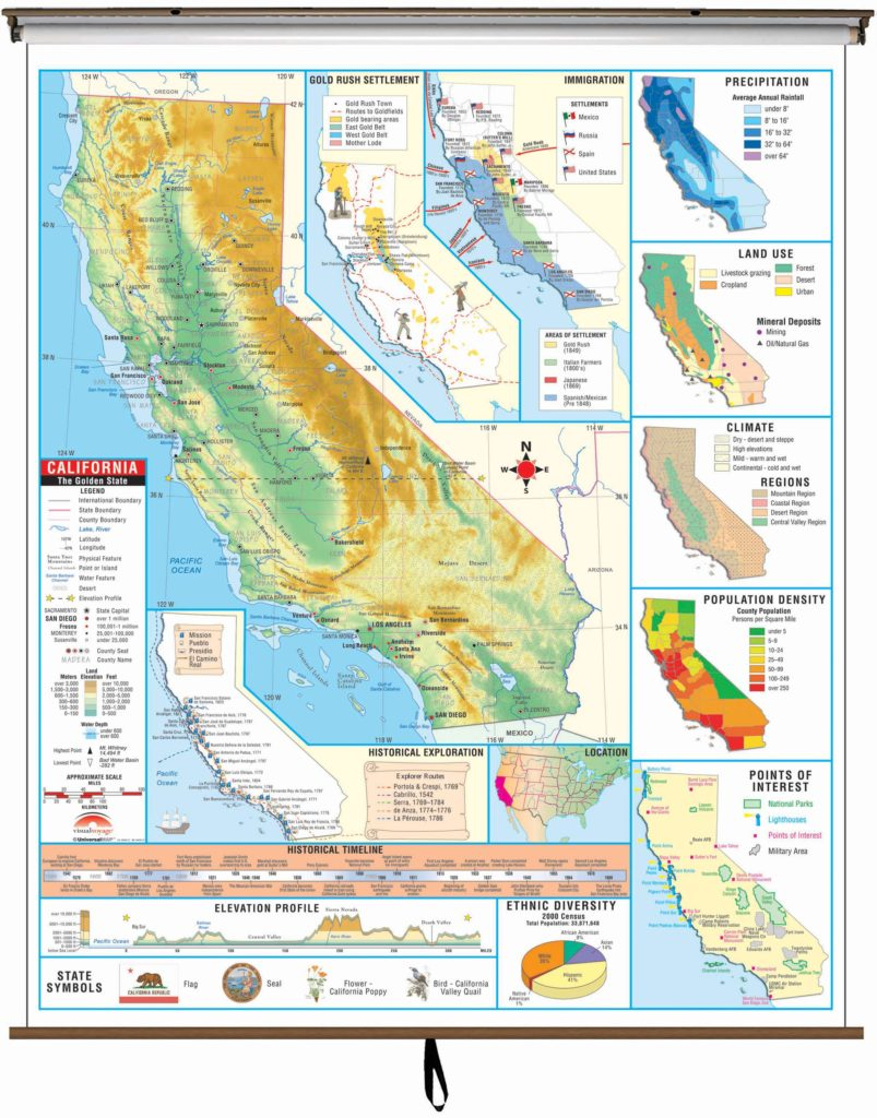 California State Intermediate Thematic Wall Map – KAPPA MAP ... on racial map of california, military map of california, geographic map of california, mexican map of california, county map of california, geopolitical map of california, economic map of california, demographic map of california, climate map of california, modern map of california, artistic map of california, funny map of california, college map of california, close up map of california, education map of california, black map of california, geographical map of california, cute map of california, political map of california,