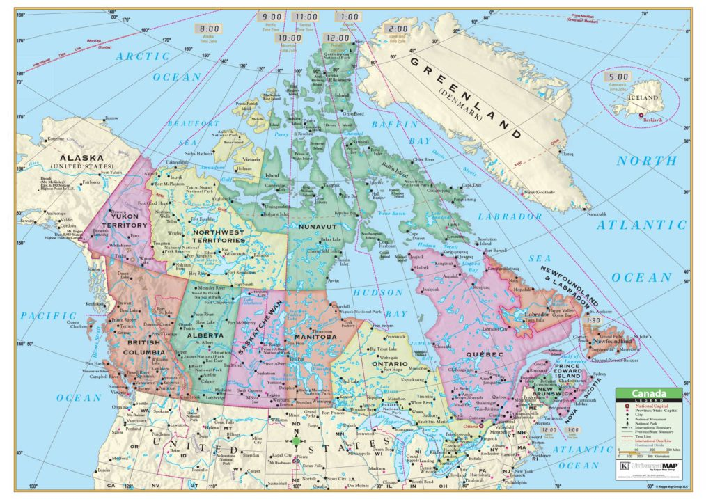 Products kappa map group canada rolled map paper sciox Image collections