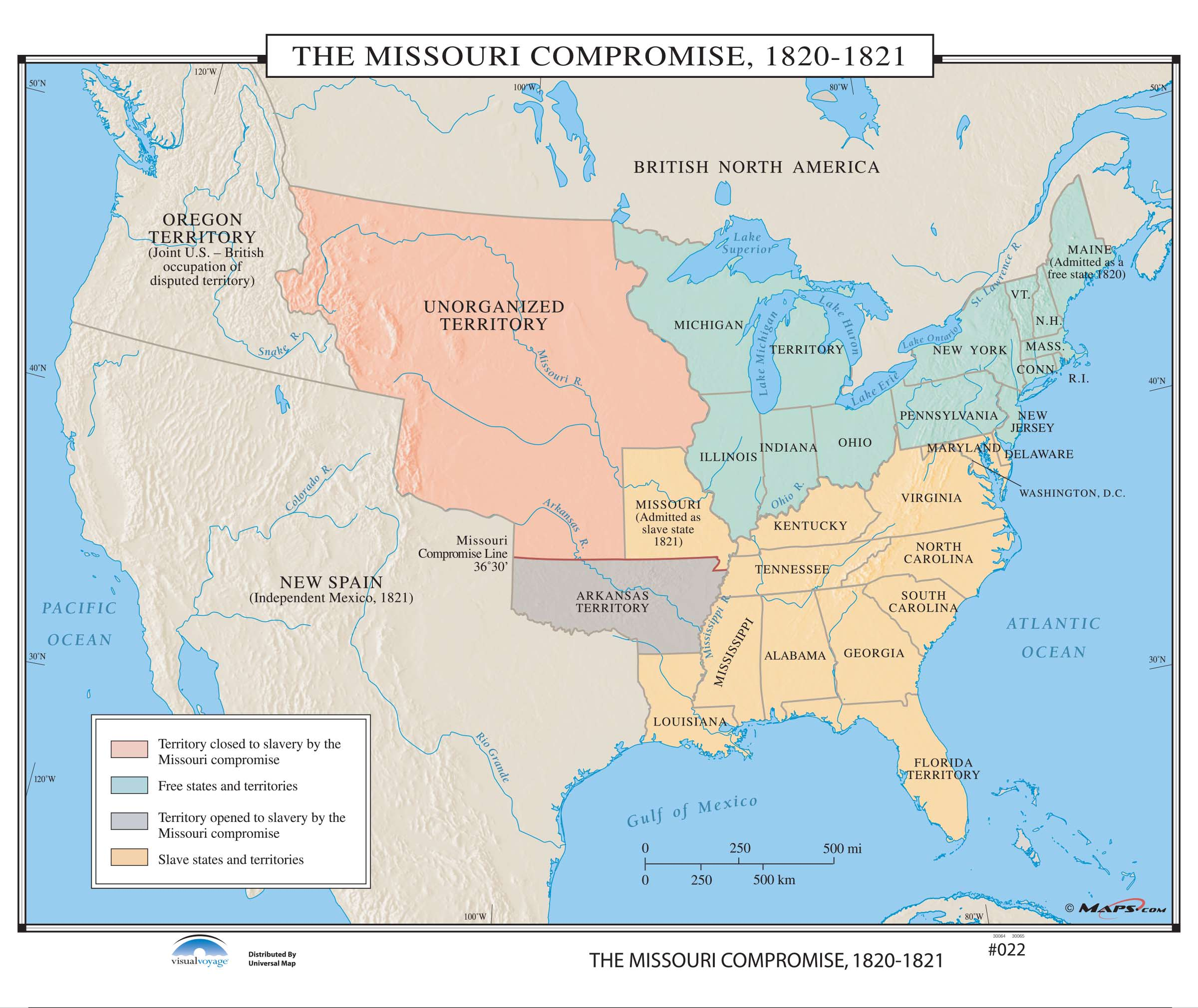 022 the missouri compromise 1820 1821