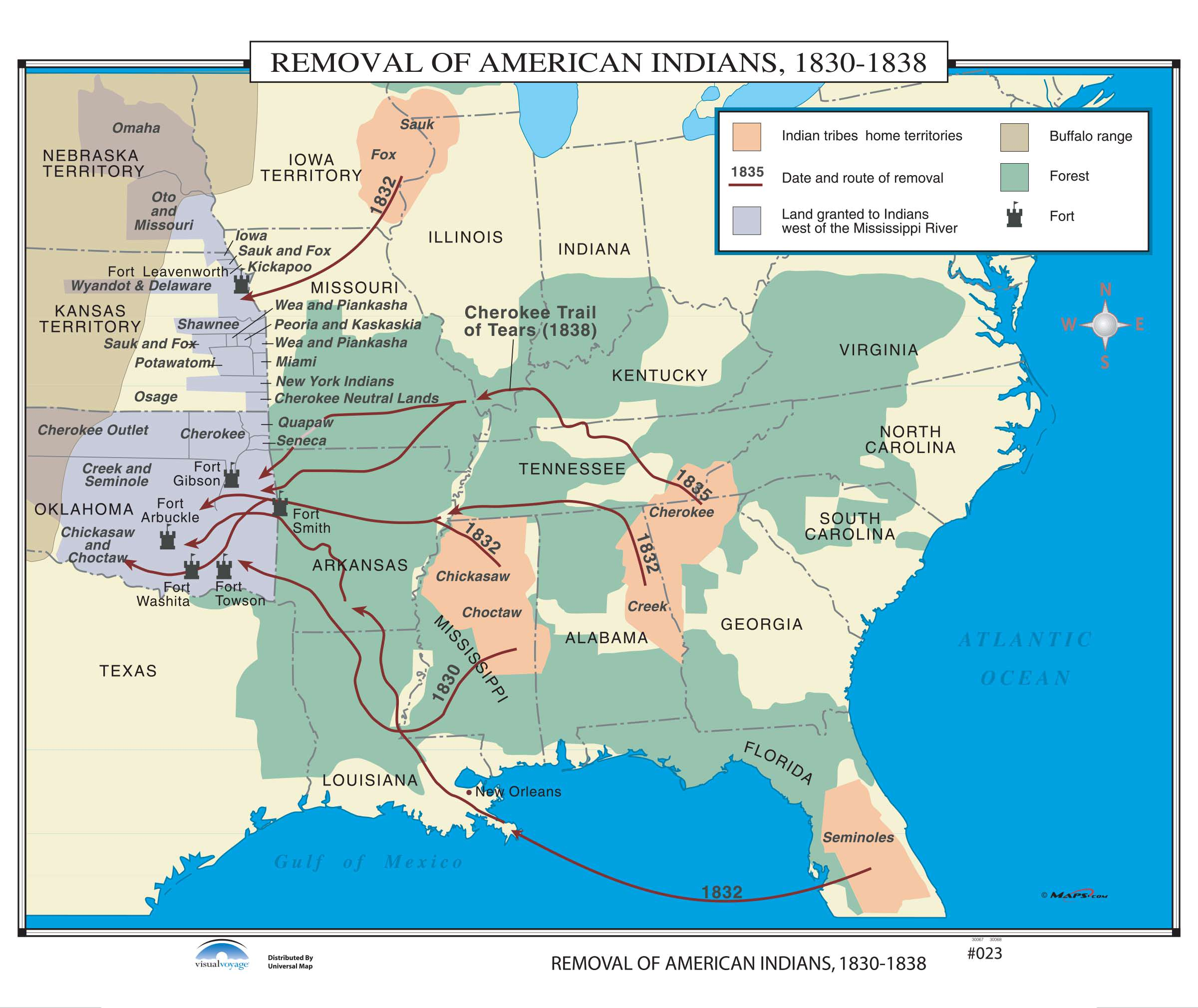 023 removal of american indians 1830 1838