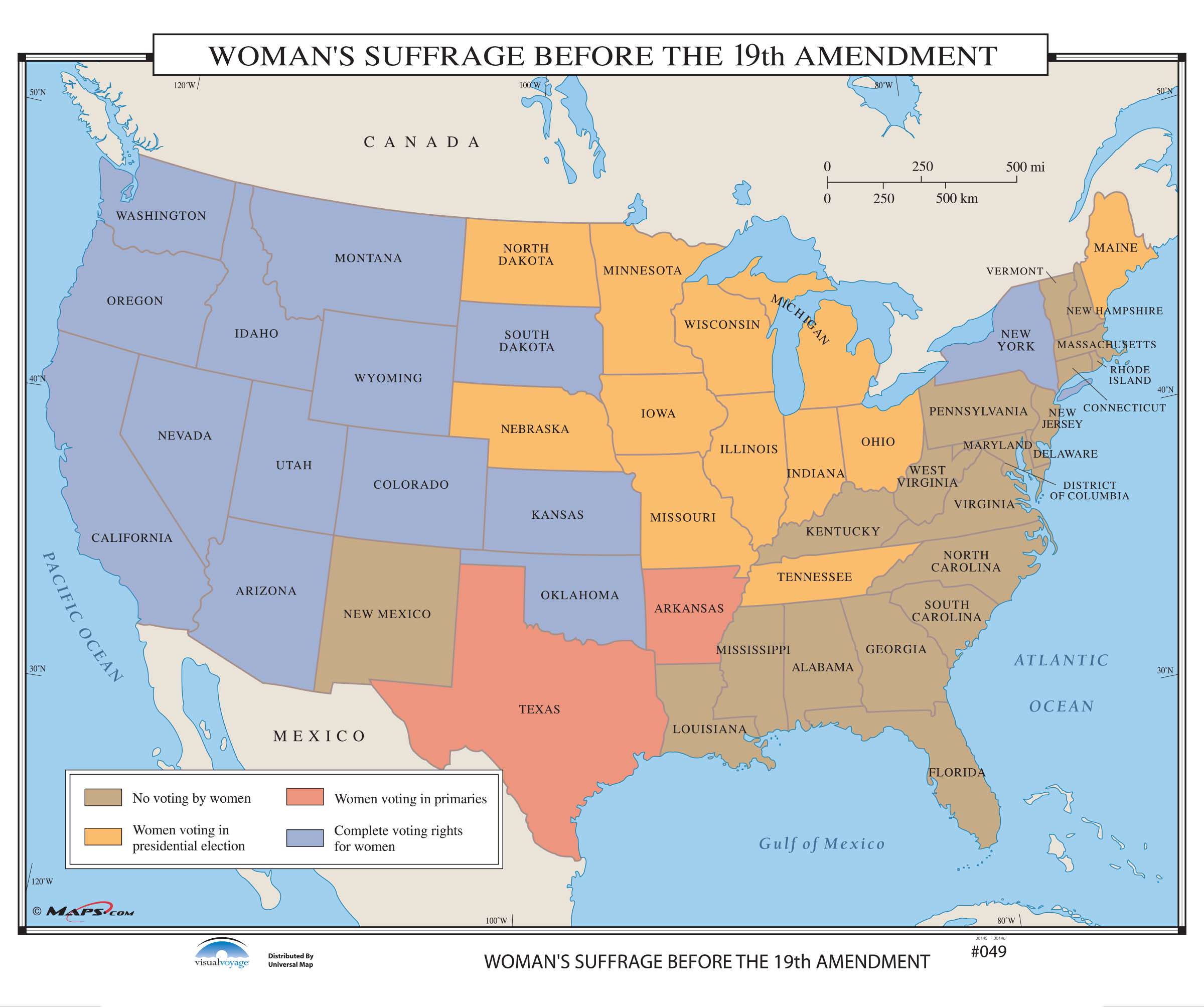 049 Womans Suffrage Before The 19th Amendment