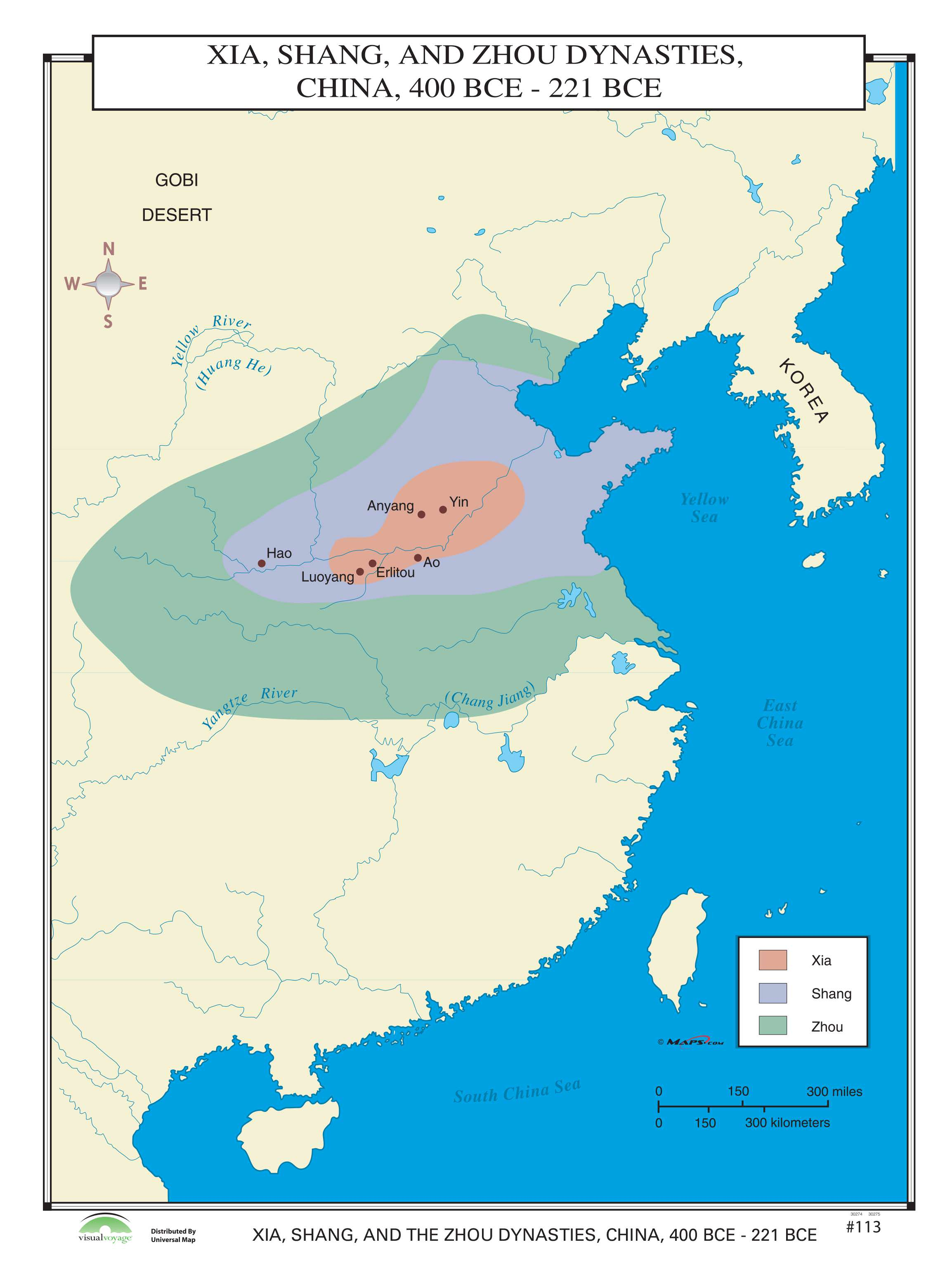 113 Xia, Shang & Zhou Dynasties, China, 400-221 BCE – KAPPA ...
