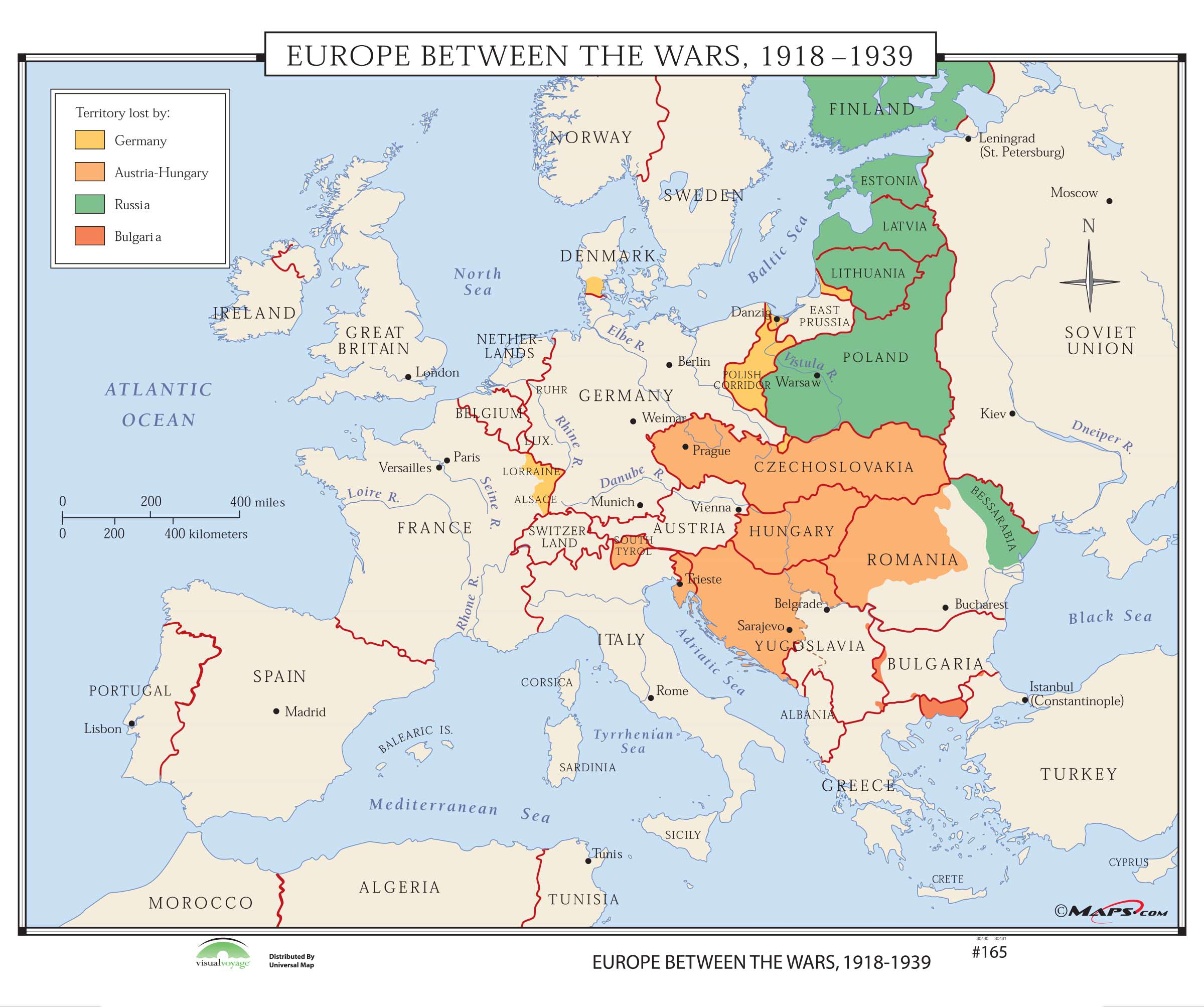 165 Europe Between the Wars 1918-1939 – KAPPA MAP GROUP