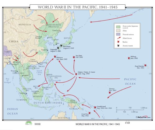 169 World War II in the Pacific, 1941-1945 – KAPPA MAP GROUP