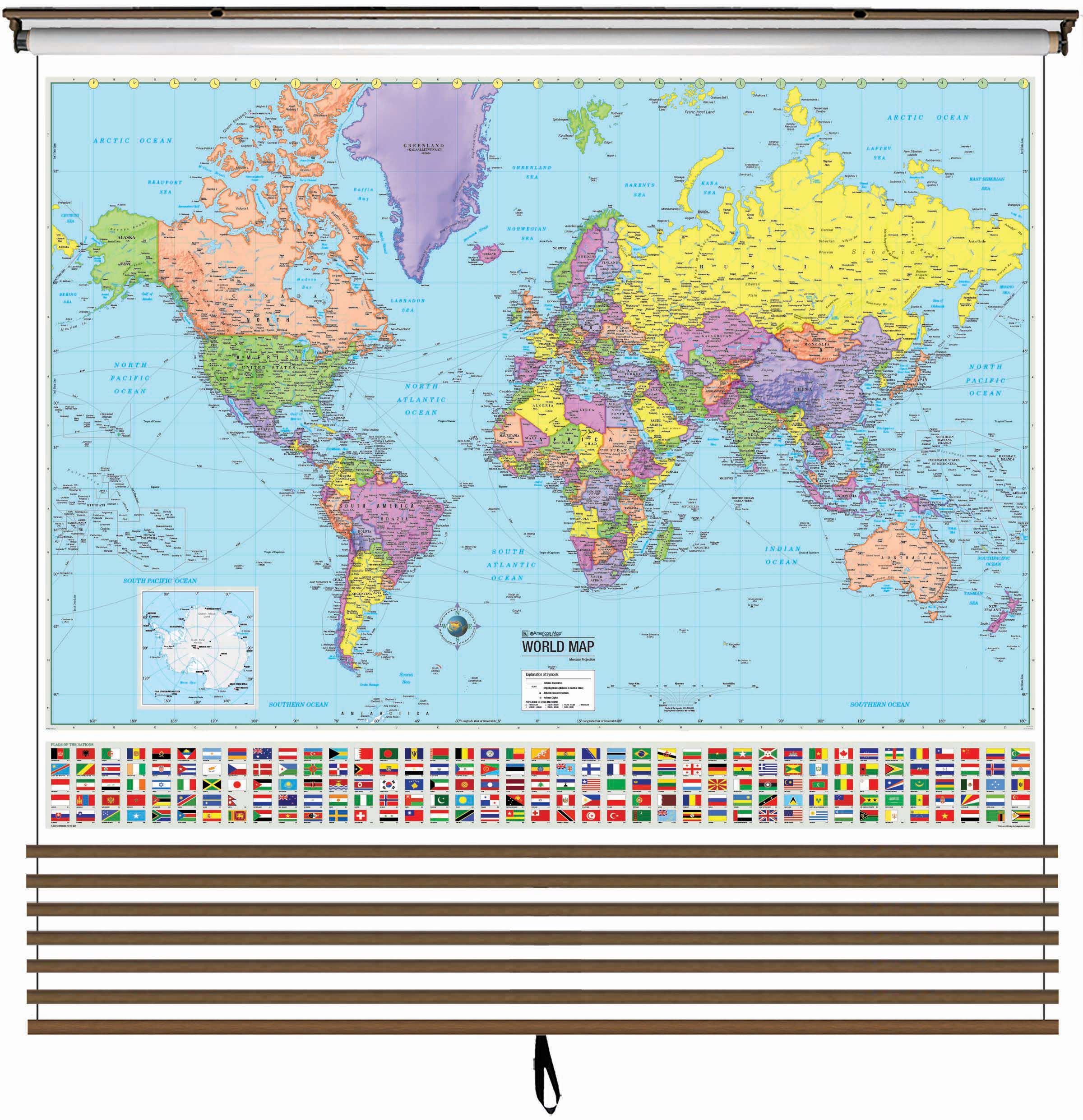 Advanced Political Wall Map Custom Set (2-7 Maps) – KAPPA ...