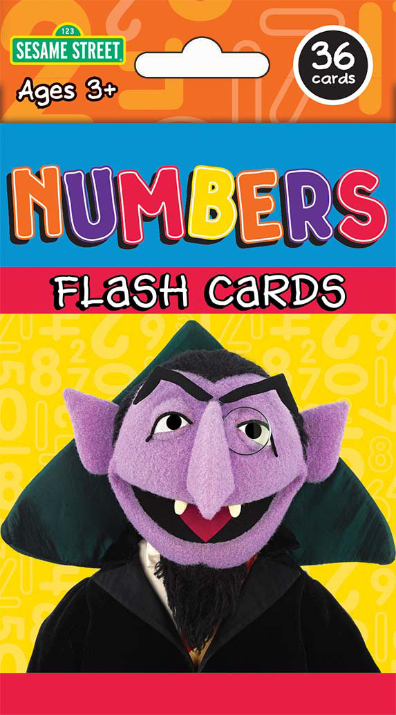 Sesame St Numbers Flash Cards Kappa Map Group