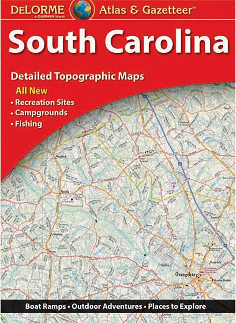 South Carolina Atlas & Gazetteer – KAPPA MAP GROUP