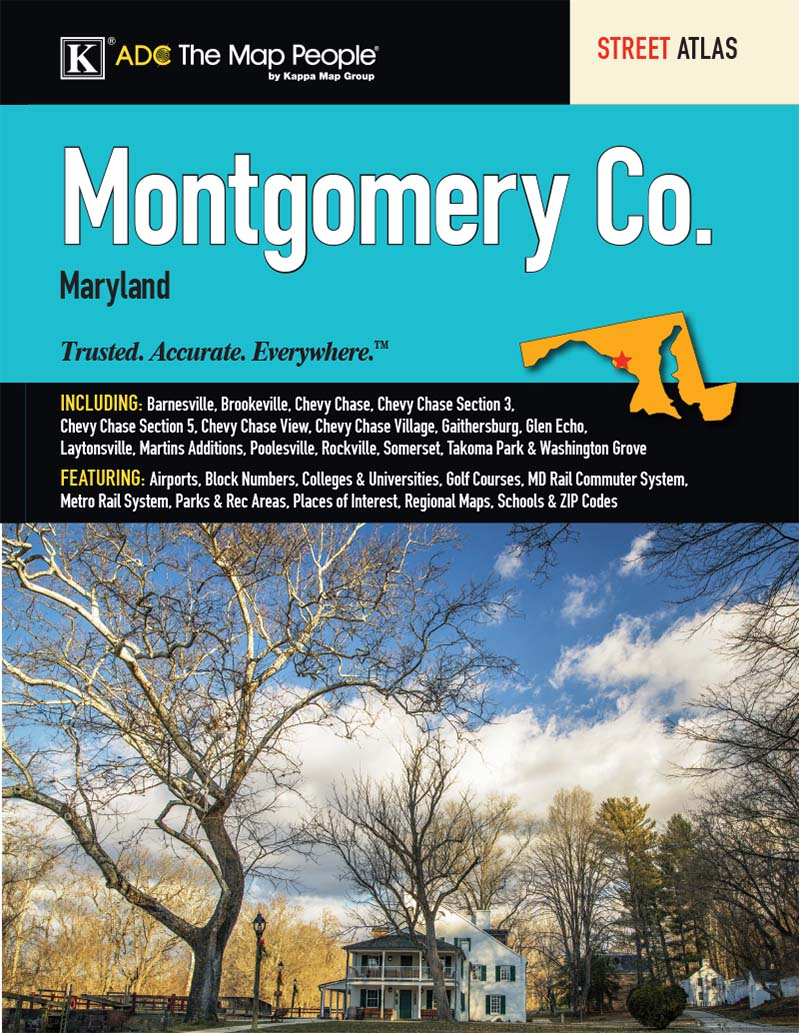 Montgomery Co, MD Atlas – KAPPA MAP GROUP on